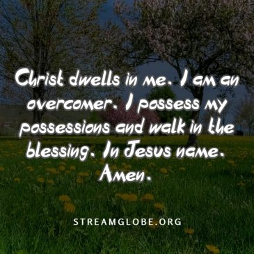 Christ Dwells In You By Faith
